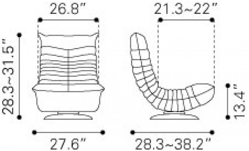Wondrous Zuo Modern Down Low Swivel Chair Gray Evergreenethics Interior Chair Design Evergreenethicsorg