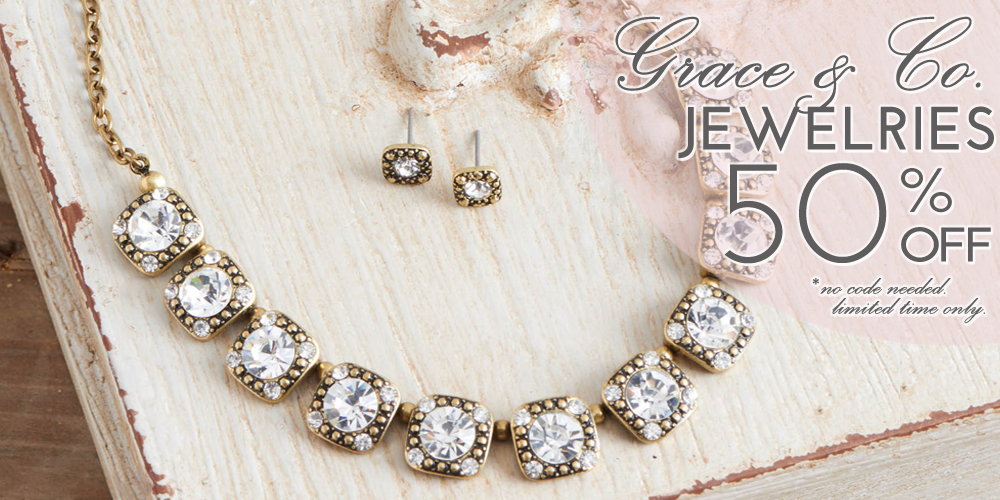 50% OFF Grace & Co. Jewelries